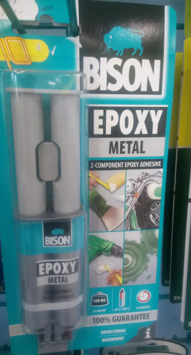 BISON EPOXY METAL  24 ml