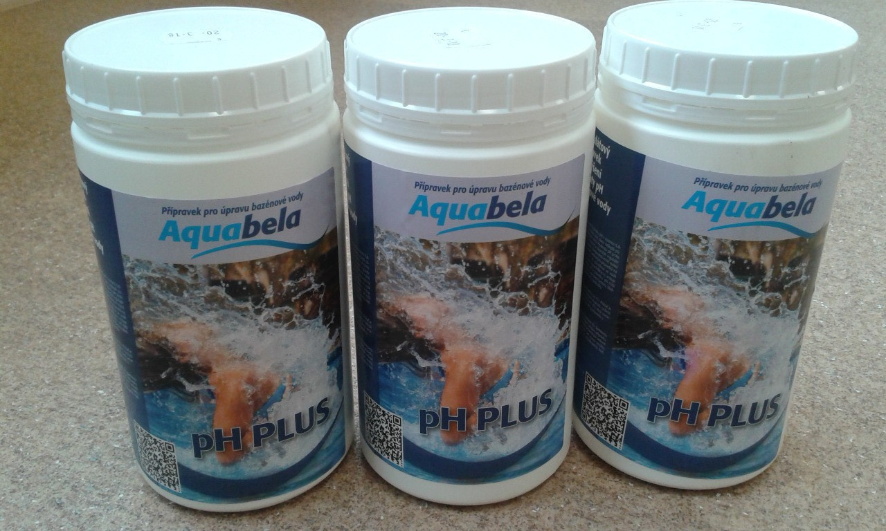 AQUABELA pH PLUS 1 kg