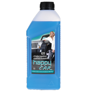 ANTIFREEZE HAPPY CAR G11 1l  modrá
