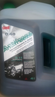 Cinol Antifreeze G 48  4 l