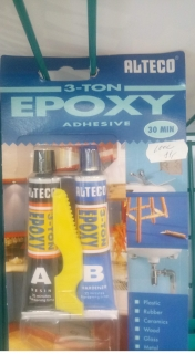 ALTECO 3 - TOM EPOXY 56.8g (steel)