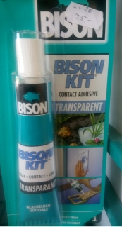 BISON KIT TRANSPARENT 50ml