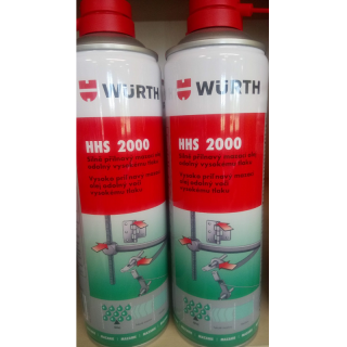 Würth HHS 2000 - přilnavé mazivo 500 ml